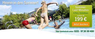 Ferienpark Last Minute Angebote Sommer