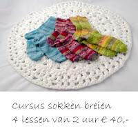 Cursus sokken breien