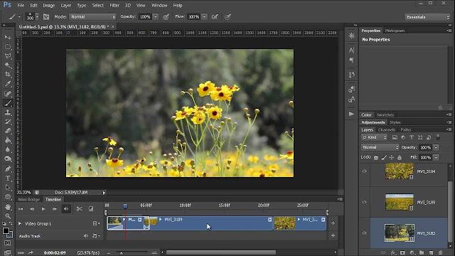 تحرير الصور والفيديوهات