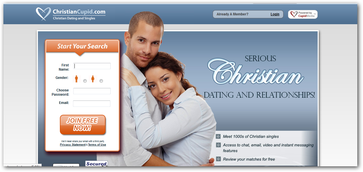 Dating sites for christian