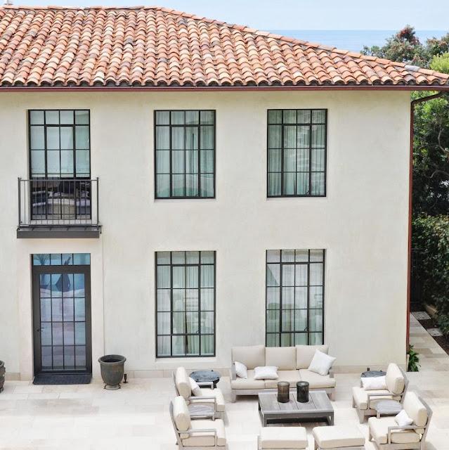 spanish house black trim | Spanish Style Home Renovation ... |Spanish Black Trim