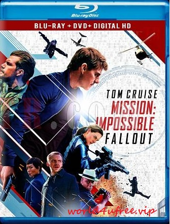 Mission Impossible Fallout 2018 Dual Audio BRRip 480p 200Mb HEVC