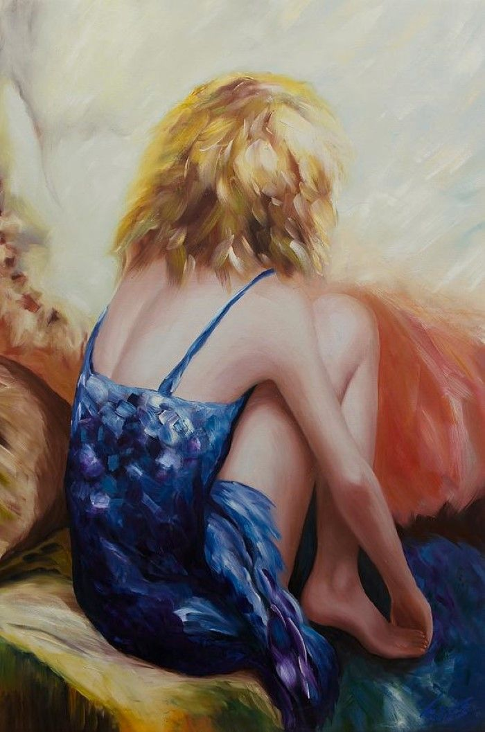 Итальянский художник. Mario Sergio Calzi