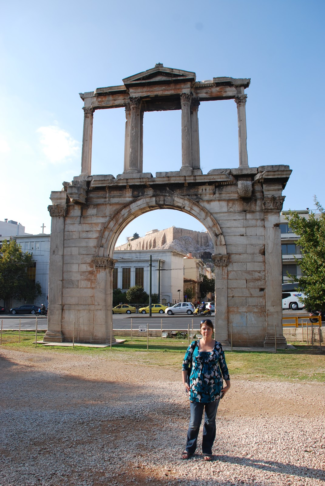 Athens The Arch Of Hadrian Holiday And Travel Europe
