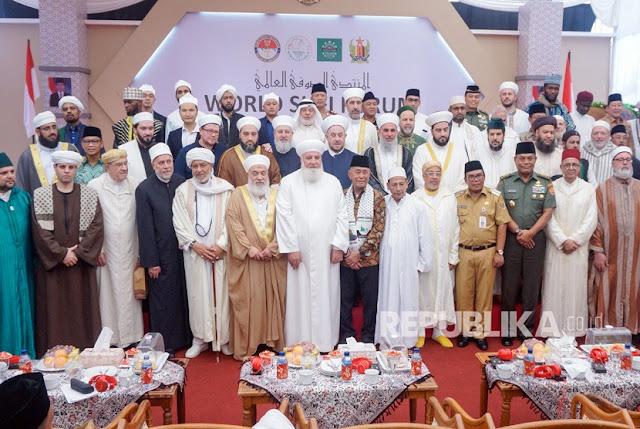 Habib Luthfi Terpilih Jadi Ketua Forum Sufi Internasional, Habib Ali Al-Bahar: Indonesia Mencatat Sejarah Baru