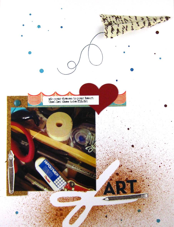 Jamie Leija Neon Birthday Card: Jamie Leija: SC CHAllenges: White Pages