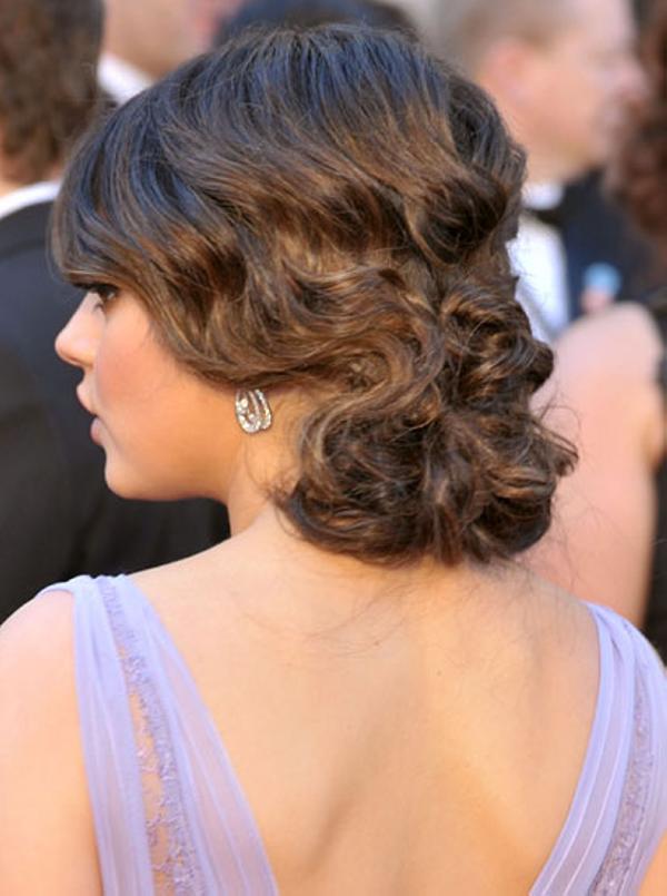 Trenzas Y Peinados Actuales Peinados Para Novias Con Pelo