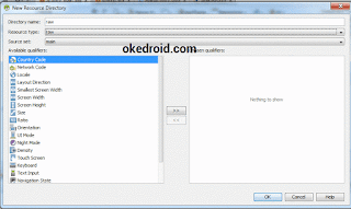 folder raw di Android Studio