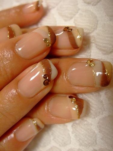 Combination Of Nail Polish For Nail Design