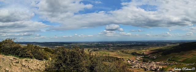 Panorama sur la ville de Mâcon