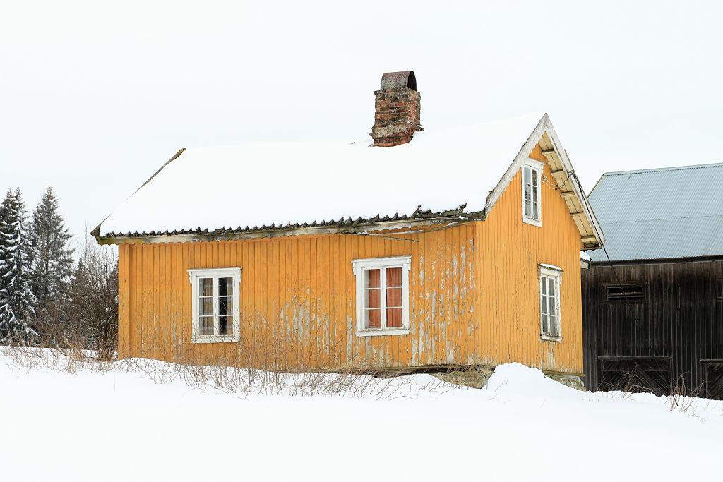Våningshus på Holmstadengen