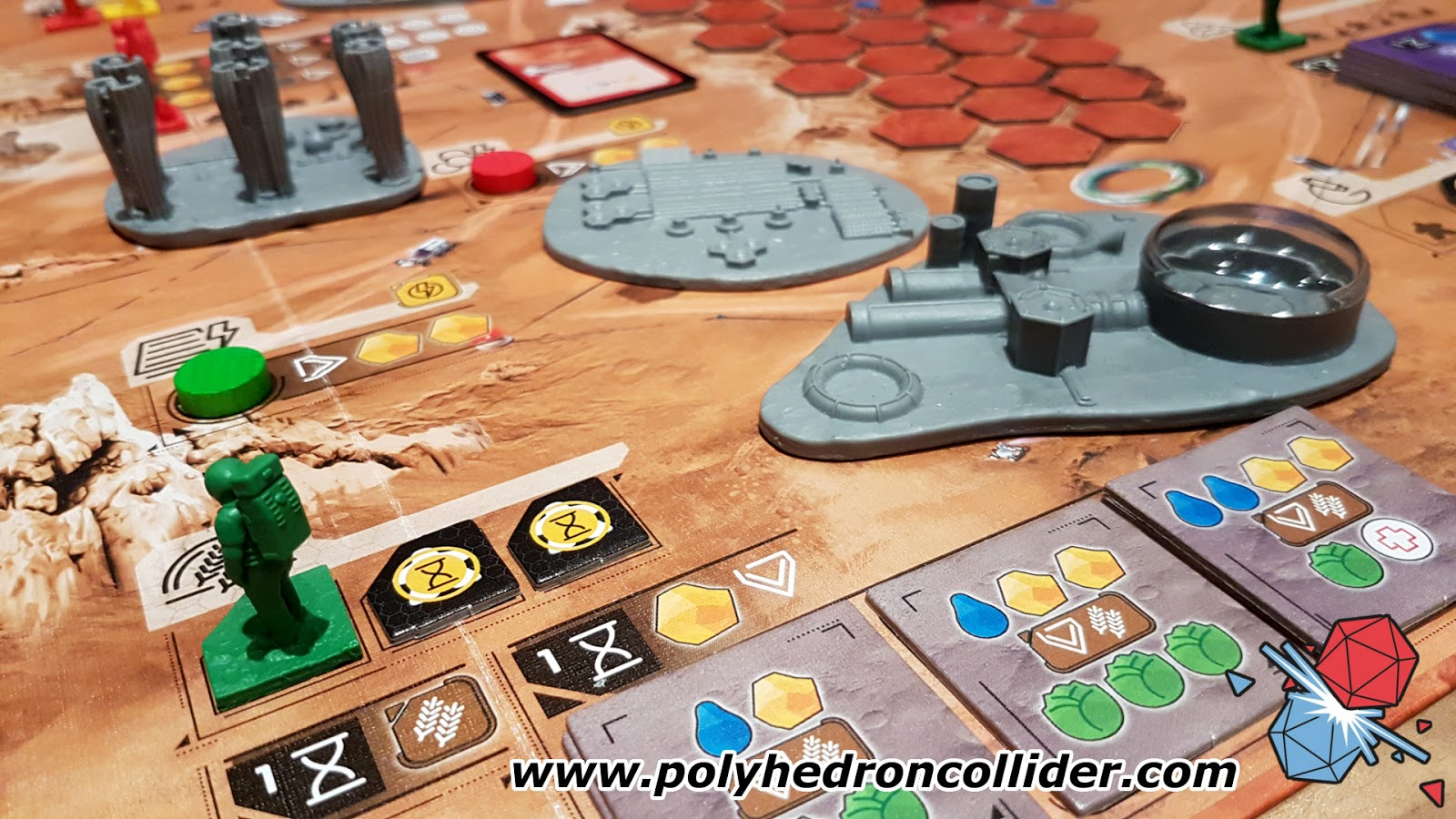 Martians A Story of Civilization worker placement game review