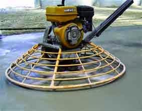 Mesin Trowel Finish Pekerjaan Floor Hardener