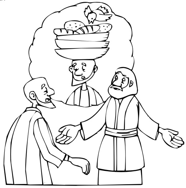 Desenho Biblico Para Pintar Jose E O Sonho Do Padeiro
