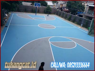 Cat Lapangan Basket Sekolah SMPN 164 Kebayoran 3
