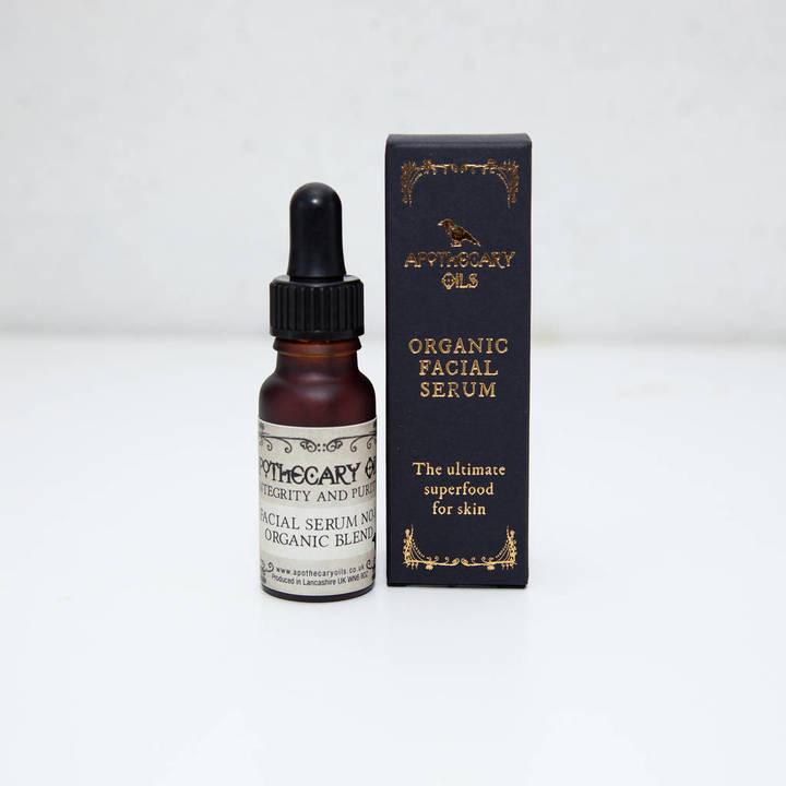 apothecary oils organic blend facial serum
