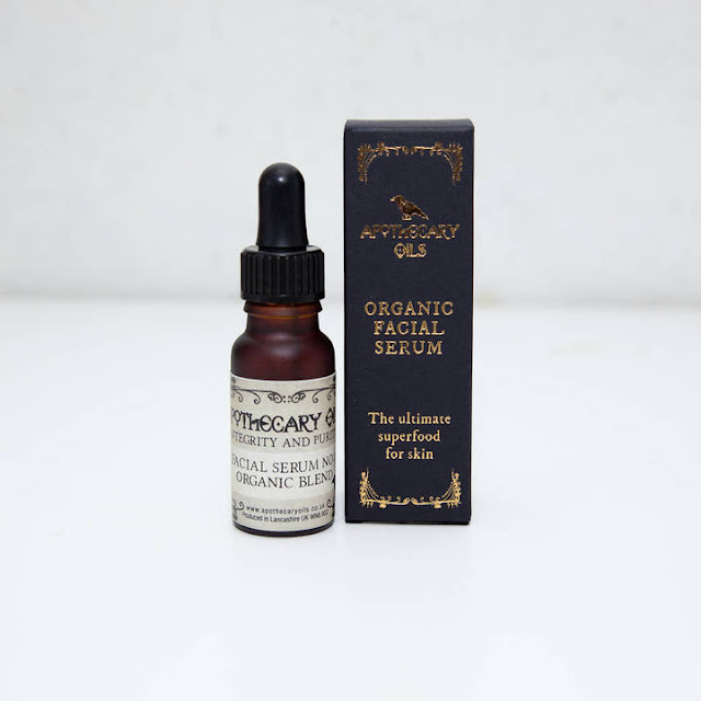 apothecary oils organic blend facial serum