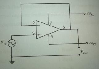 Laporan Praktikum Elektronika Dasar 2 - Op-Amp Sebagai Voltage Follower