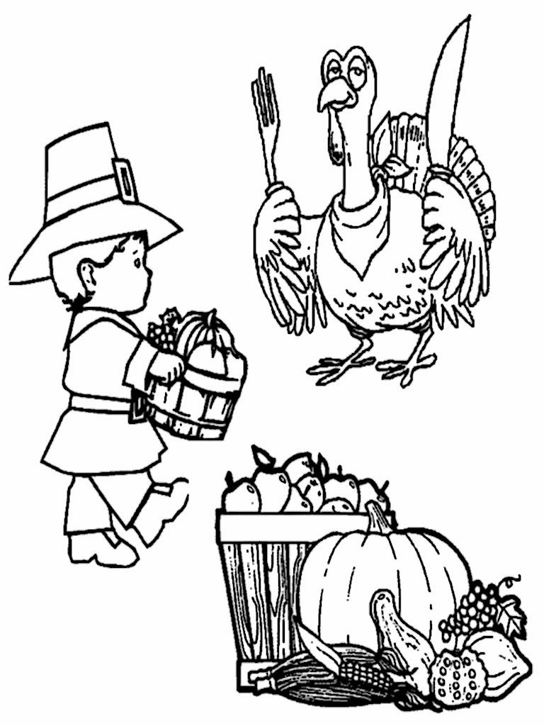 turky coloring pages 4 kids - photo#14