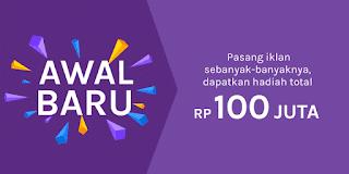 Kontes Pasang Iklan Awal Baru Olx Berhadiah Total 100 juta