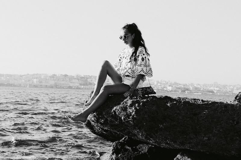 blogueuse mode 2017 shooting à la plage