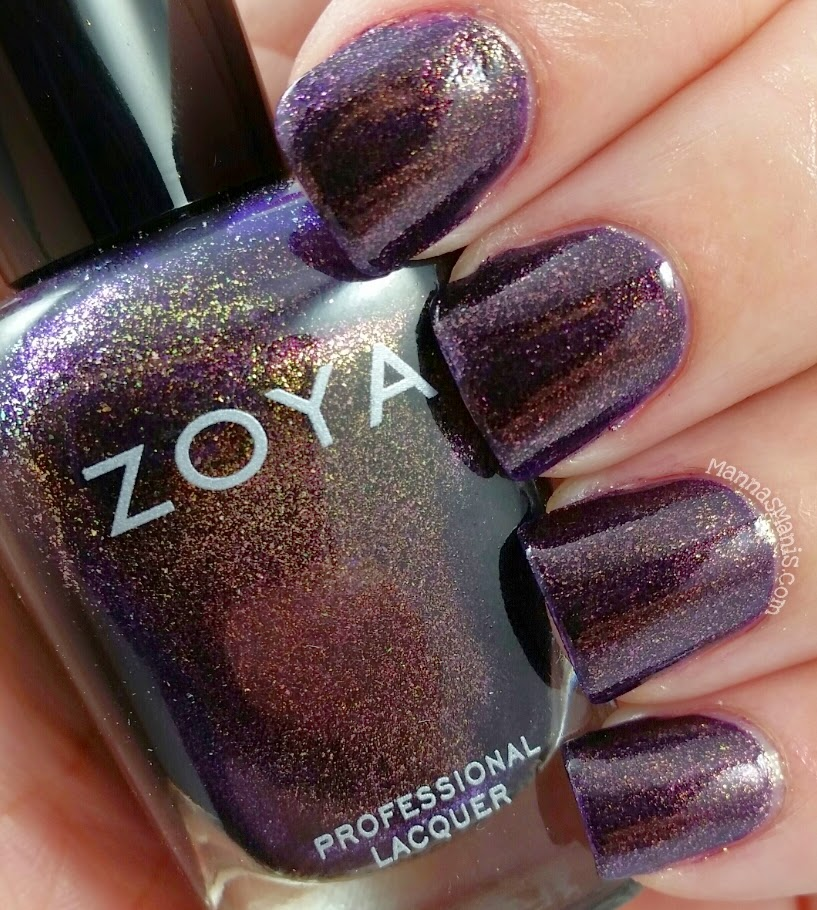 zoya sansa, a purple nail polish