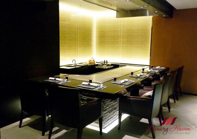 keio plaza teppan yaki yamanami japanese restaurant review