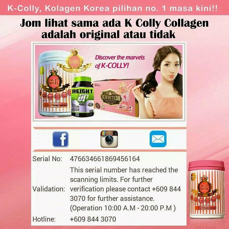 K Colly Collagen Harga Beauty De RiDza: K COL...