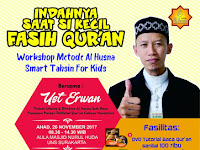 Indahnya Saat si kecil Fasih Qur'an, Smart Tahsin for Kids Digelar di Solo