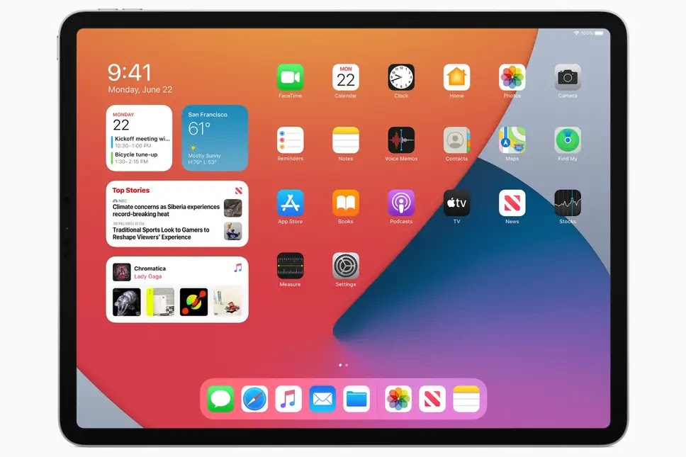 The iPadOS 14 beta