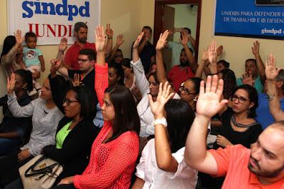 Profissionais de Jundiaí se unem ao Sindpd na luta contra retrocessos da reforma trabalhista
