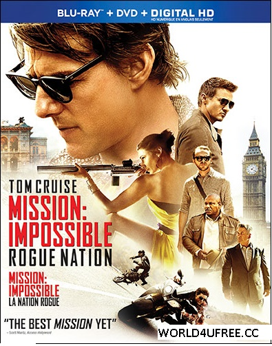 Mission Impossible Rogue Nation 2015 120mb BRRip HEVC Mobile ESUB Movie hollywood movie english movie compressed small size free download at https://world4ufree.to