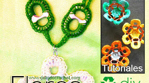 Flores Recicladas Crochet / Tutoriales