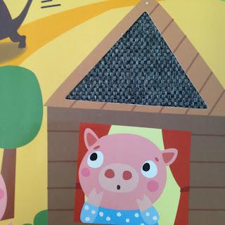 Les Trois Petits Cochons Texture Maison de Bois