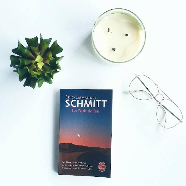 La nuit de feu d'Éric-Emmanuel Schmitt
