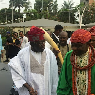 Olu of Warri visits Tinubu