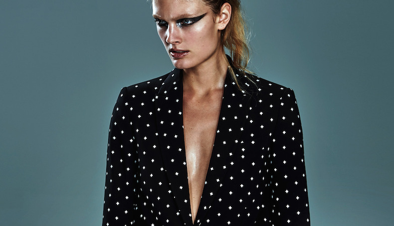 in the spotlight: constance jablonski by chris colls for the edit by net-a-porter 2nd july 2015