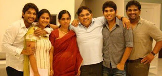 Allu Sirish Family Wife Parents children's Marriage Photos