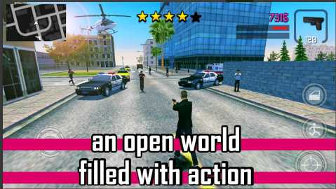 Game Mirip GTA di Android Offline Gunshot Cit Apk