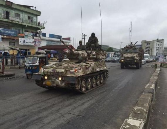 """""""Operation Python Dance 2"""" taking place in the South Eastern States (Abia, Anambra, Ebonyi, Enugu and Imo States) is an act of war against Ndi Igbo."""