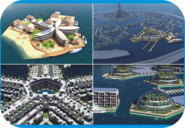 World's first floating city