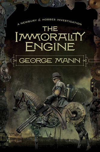 Interview with George Mann and Giveaway - September 28, 2011