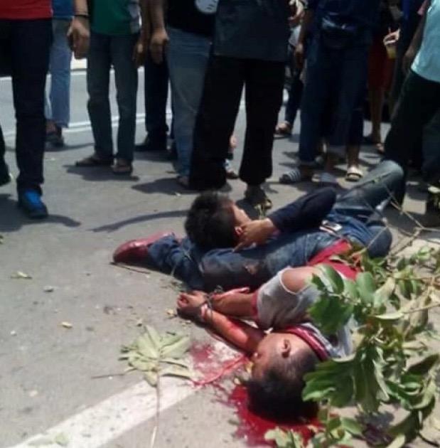 Cubaan Samun Tauke Lembu di Repek, Kelantan