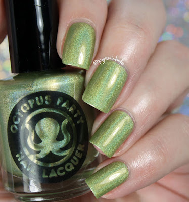 Octopus Party Nail Lacquer Absinthe Minded