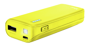 trust power bank 22743 giallo