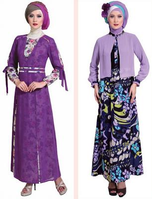 20 Model Baju Gamis Muslim Untuk Pesta Pernikahan 2018 Keren