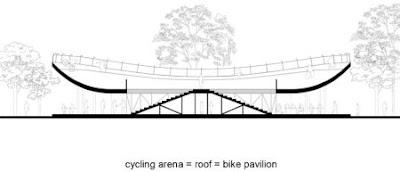 Maqueta de ciclo pista