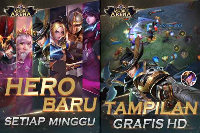 Download Mobile Arena MOD APK Terbaru