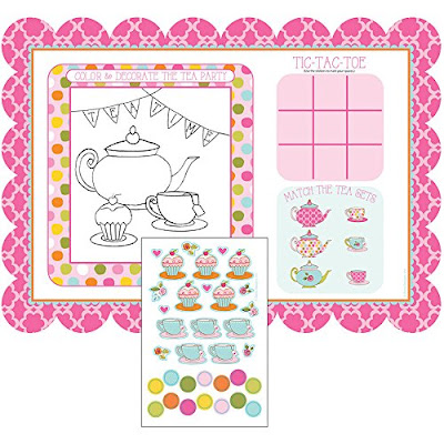 Girl Scout Daisy tea party place mats