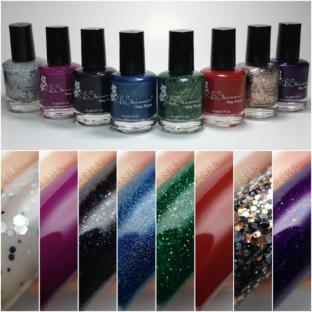 KBShimmers Winter 2016 collection